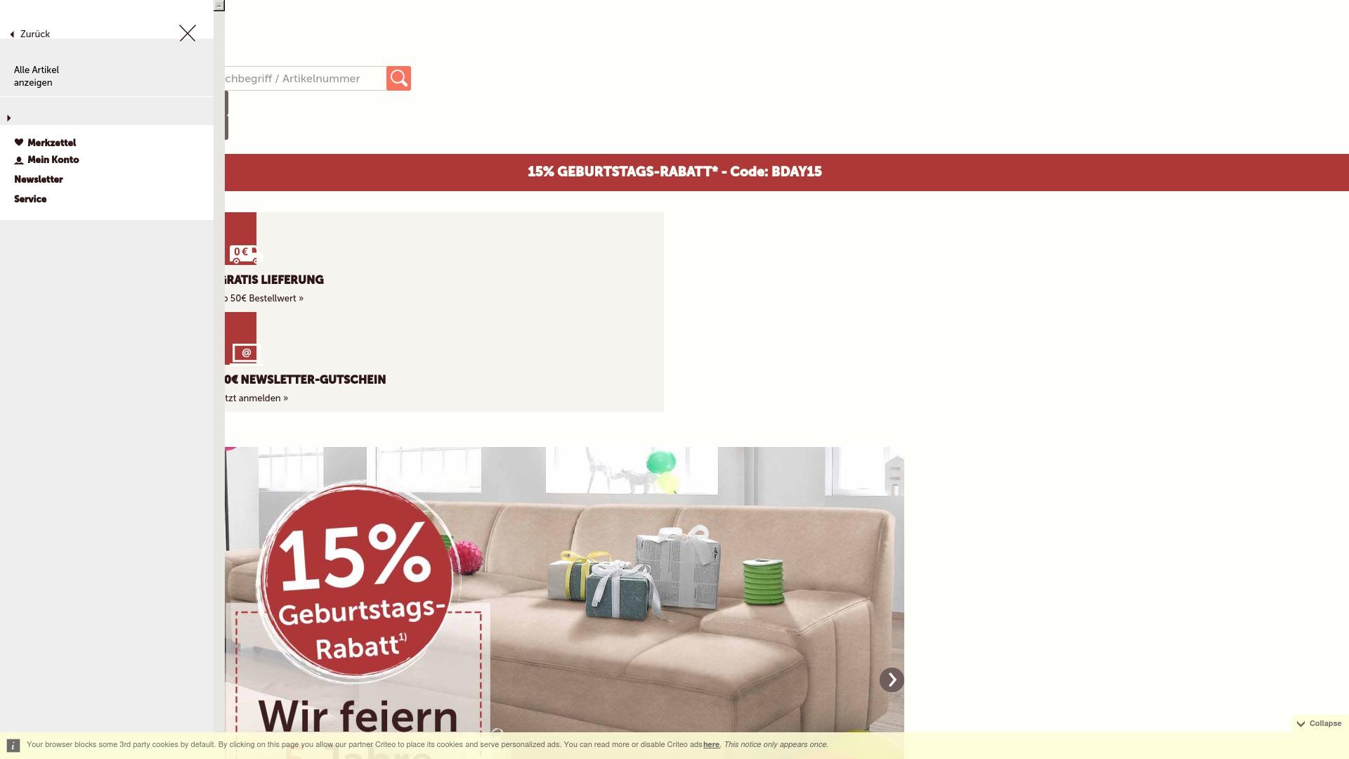 Gutschein für Cnouch: Rabatte für  Cnouch sichern
